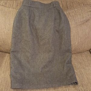 Mervyn's wool skirt